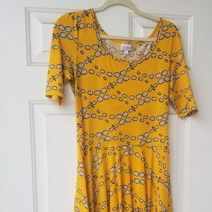 Adorable Lularoe Nicole Dress